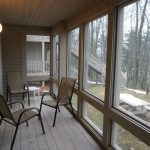 Telemark Resort porch with chairs